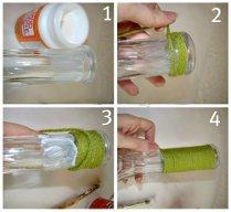 Как сделать самой вазу